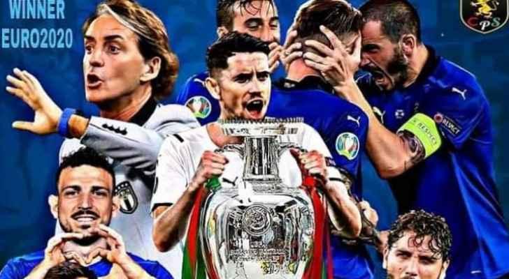 Italy wins UEFA 2020