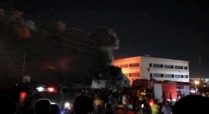 Jordan offers condolences to Iraq after hospital fire