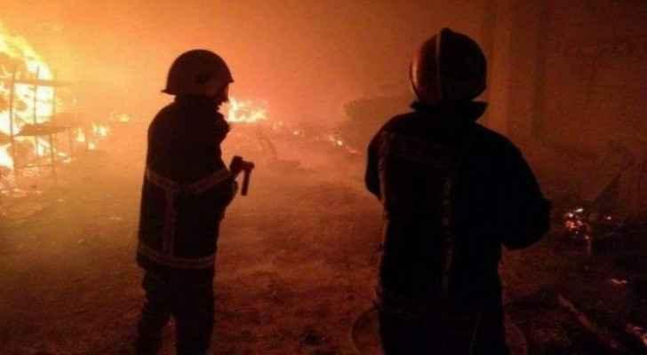Fire breaks out in COVID-19 ward of Gazan hospital