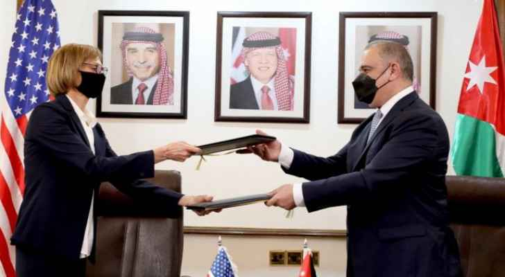 Jordan receives first batch of US cash grant worth USD 600 million to support treasury