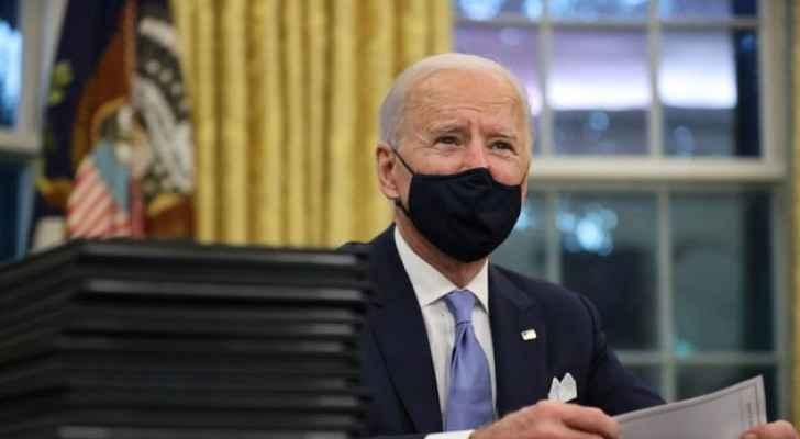 Biden says he 'looks forward' to meeting with King Abdullah