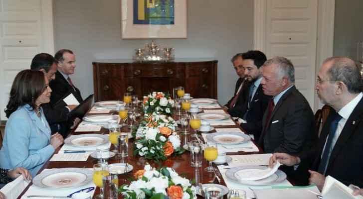King, Harris discuss ways to strengthen strategic partnership