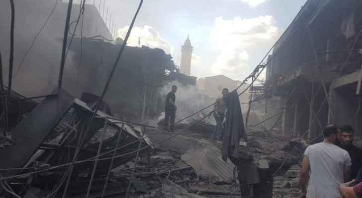 Interior Ministry in Gaza issues statement on Zawiya market explosion