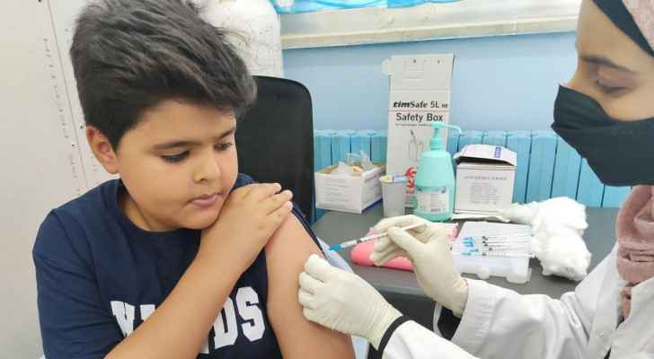 Health Ministry begins administering COVID-19 vaccines to 12-year-olds