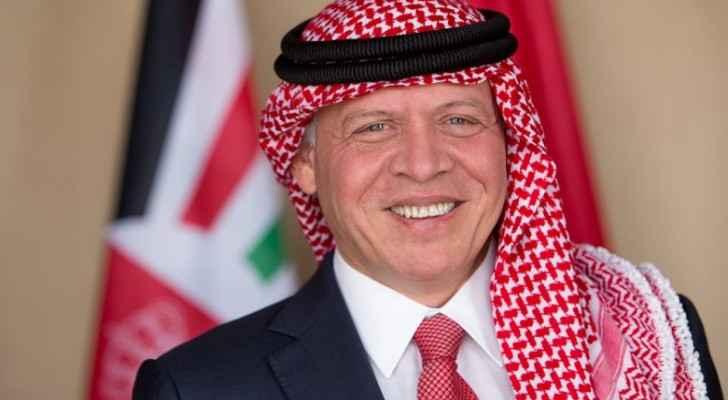 King returns to Jordan after Athens visit