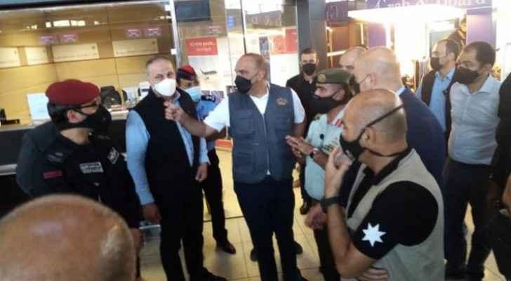 PM makes surprise tour of Queen Alia International Airport