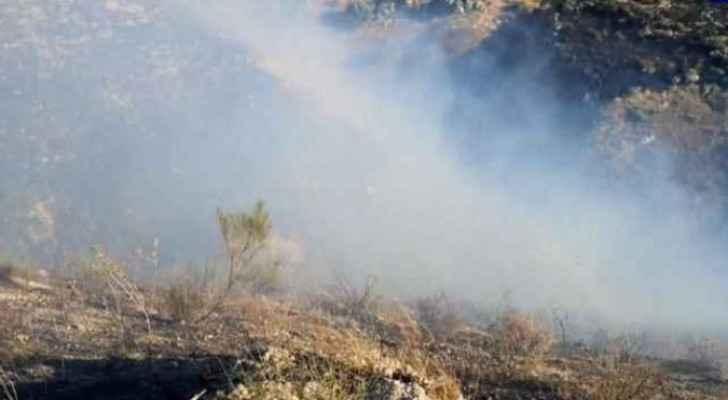 Huge fire devours fruit trees in Irbid