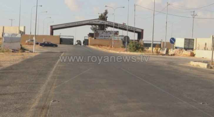 Jaber border crossing reopens