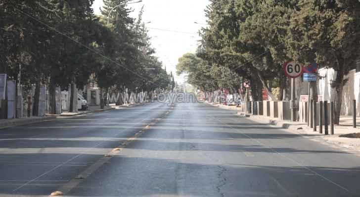 Temperatures rise across Jordan Saturday