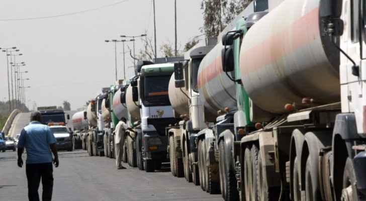 First Iraqi oil shipment arrives to Jordan
