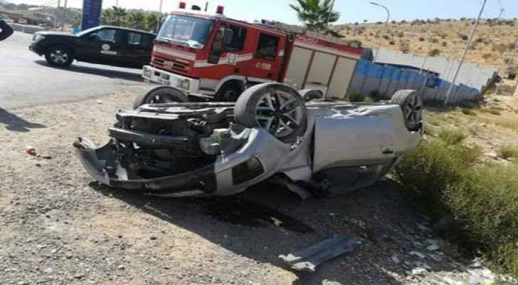 Mother, daughter dead in car crash in Karak