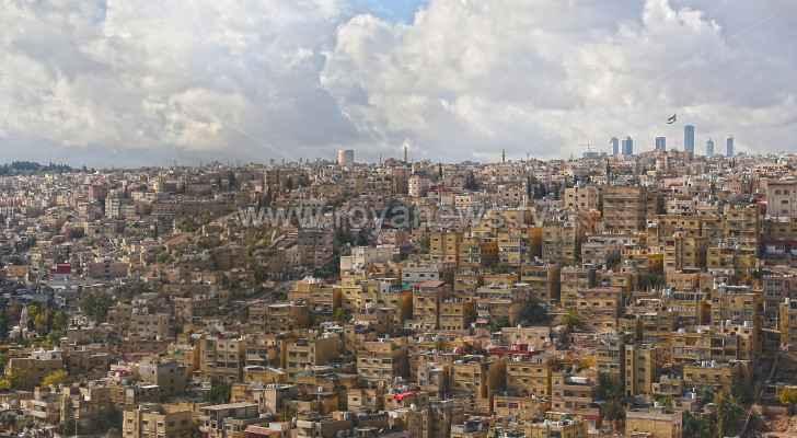 Temperatures drop across Jordan Saturday