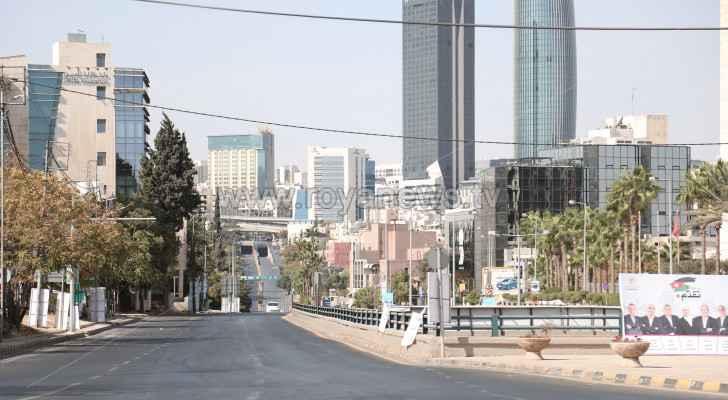 Temperatures stabilize across Jordan Sunday