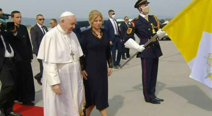 Pope Francis completes Slovakia visit with open-air mass