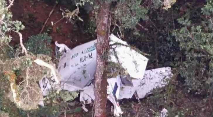 Indonesian cargo plane crashes into mountain, three missing