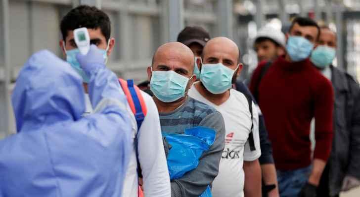 Palestine records 15 deaths, 2,501 new coronavirus cases