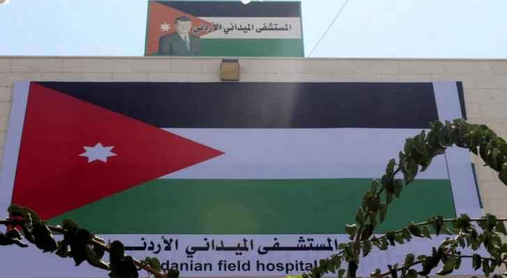 Jordanian field hospital begins receiving Gazan patients