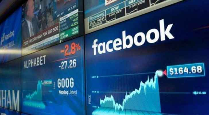 Facebook shares drop five percent following global outage