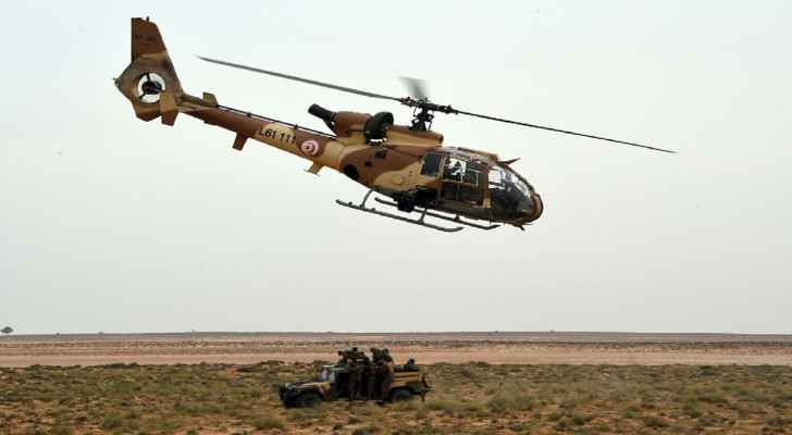 Military helicopter crashes in Tunisia, killing three soldiers