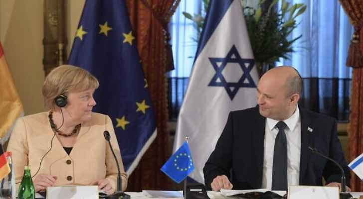 Merkel stresses that Israeli Occupation's security is a priority for 'any German government'