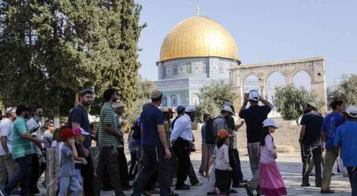 Dozens of settlers perform silent prayer at Al Aqsa after Israeli Occupation court bans it
