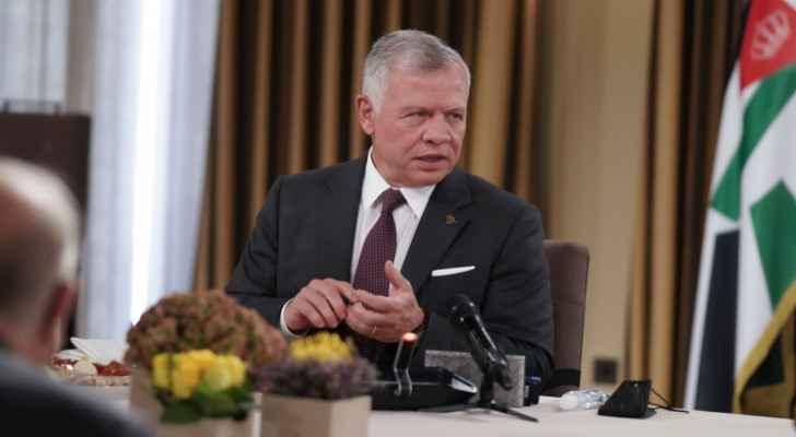 King returns to Jordan after Qatar visit
