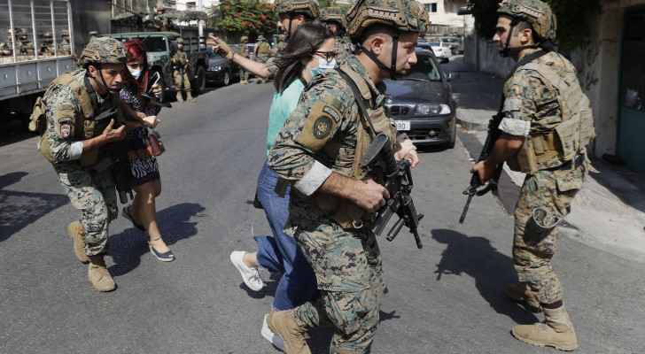 Arrest of 9 people suspected of shooting in Tayouneh: Lebanese Army